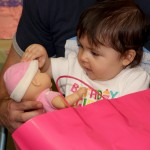 Aubrey's First Birthday Party Photos! She loves dolls!