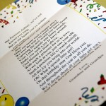 Aubrey's First Birthday Party Photos! A poem from Grandparents... sweet!